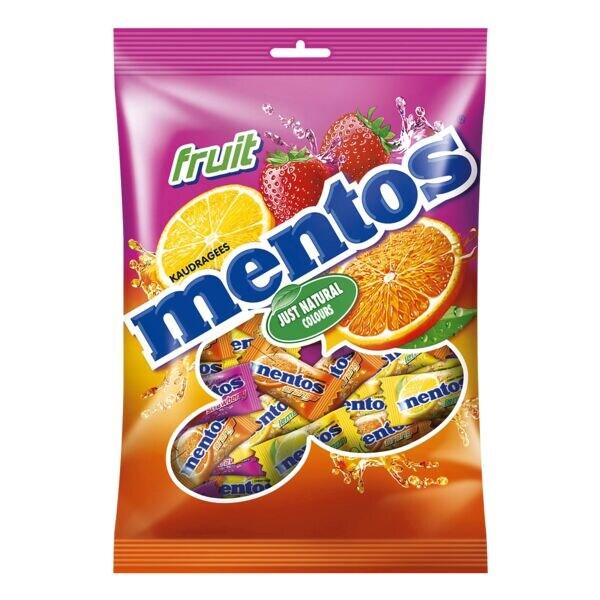 Mentos Kaubonbons »Fruit - Pillowpack«