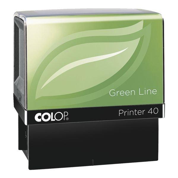 Colop Selbstfärbender Textstempel »Printer 40 Green Line«