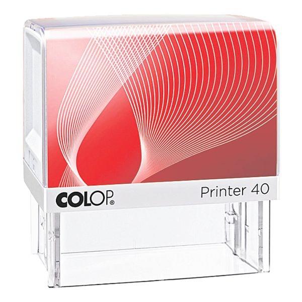 Colop Selbstfärbender Textstempel »Printer 40«