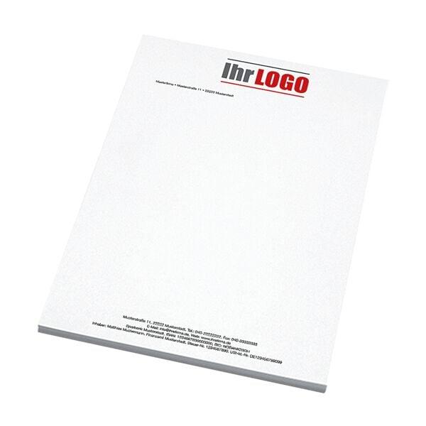 Individualisierbares Briefpapier, Laseroffsetpapier, 1-seitig 4/0-farbig