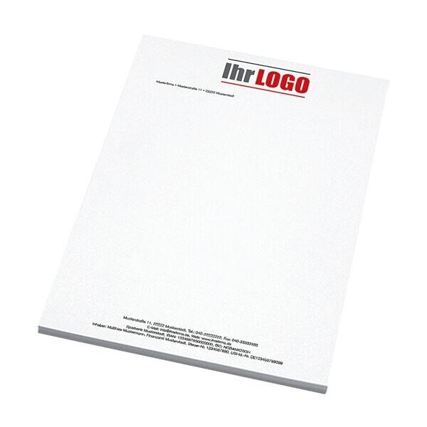 Individualisierbares Briefpapier, Recyclingpapier, 1-seitig 4/0-farbig