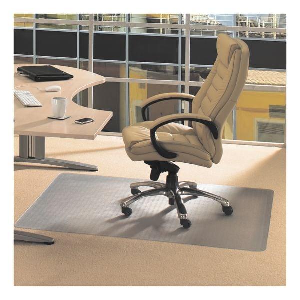 bodenschutzmatte f r teppichb den vinyl rechteck 115 x 134 cm floortex bei otto office. Black Bedroom Furniture Sets. Home Design Ideas