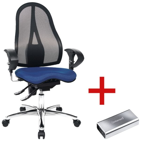 b rostuhl topstar sitness 15 mit armlehnen inkl powerbank a5200 bei otto office g nstig kaufen. Black Bedroom Furniture Sets. Home Design Ideas