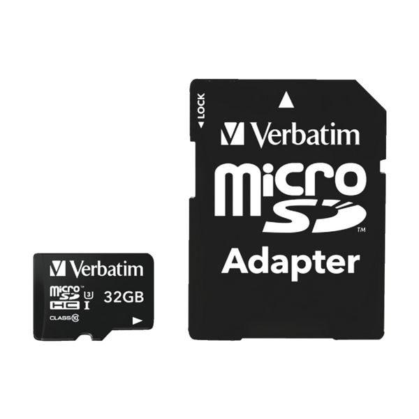 Verbatim microSDHC-Speicherkarte »Pro U3 32GB«
