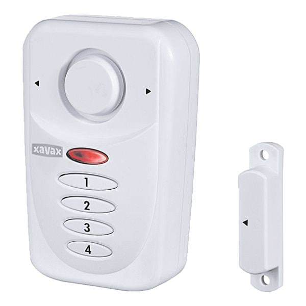 xavax fenster t r alarm sensor mit pin code bei otto office g nstig kaufen. Black Bedroom Furniture Sets. Home Design Ideas