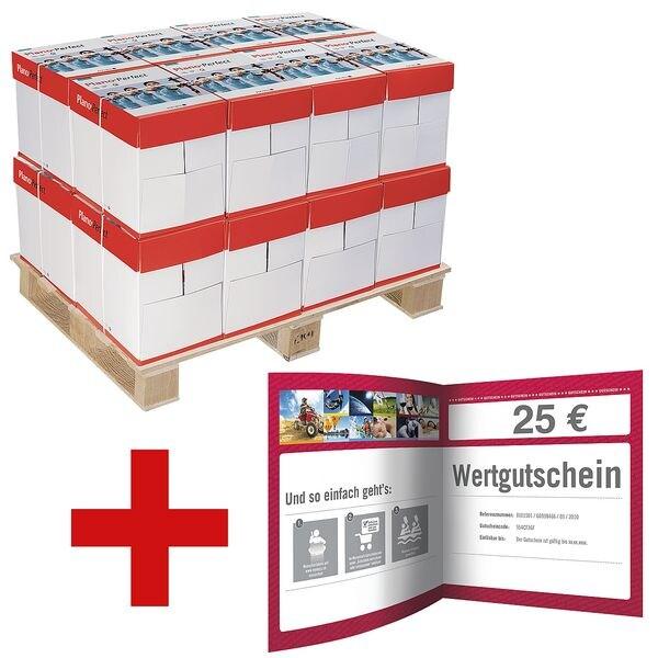 100x Multifunktionales Druckerpapier A4 Plano Perfect - 50000 Blatt gesamt inkl. 25€ MyDays-Gutschein