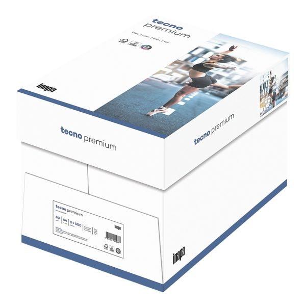 Multifunktionales Druckerpapier A4 Inapa tecno Premium - 2500 Blatt gesamt