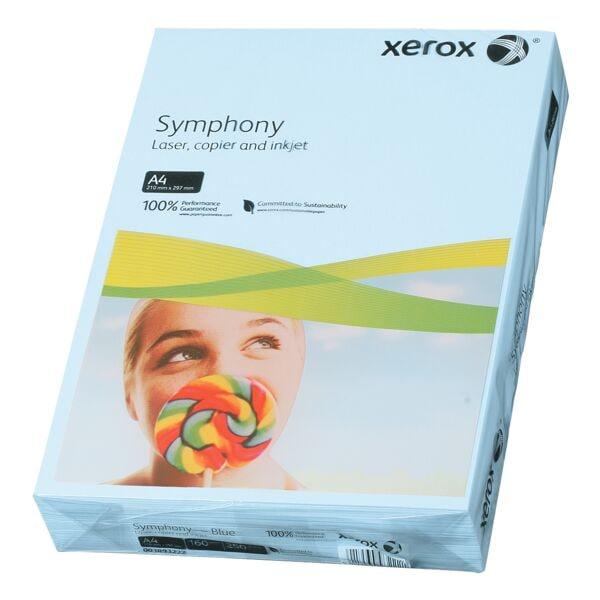 Farbiges Druckerpapier A4 Xerox Symphony - 250 Blatt gesamt