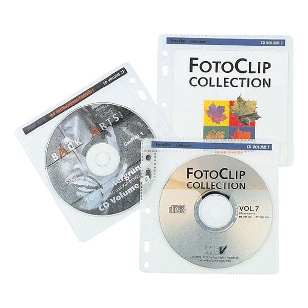 Hama CD/DVD/Blu-ray-Doppelhüllen »Pockets«