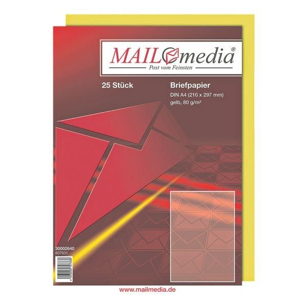 Mailmedia Farbiges Briefpapier
