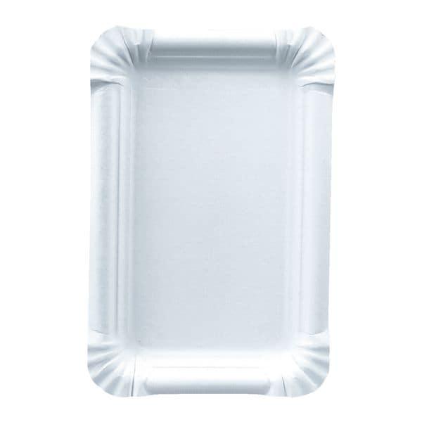 Papstar 250er-Pack Einweg-Teller »pure« aus Frischfaserkarton 13x20 cm