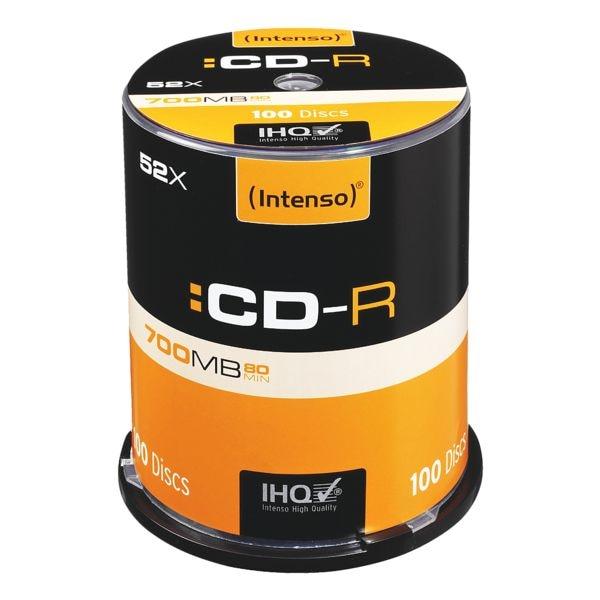 Intenso CD-Rohlinge »CD-R« 100 Stück
