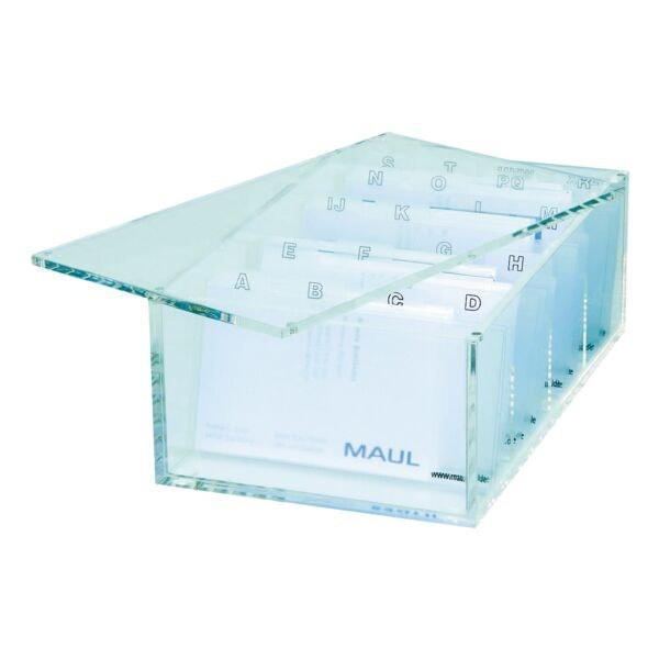 MAUL Visitenkartenbox »Acryl«