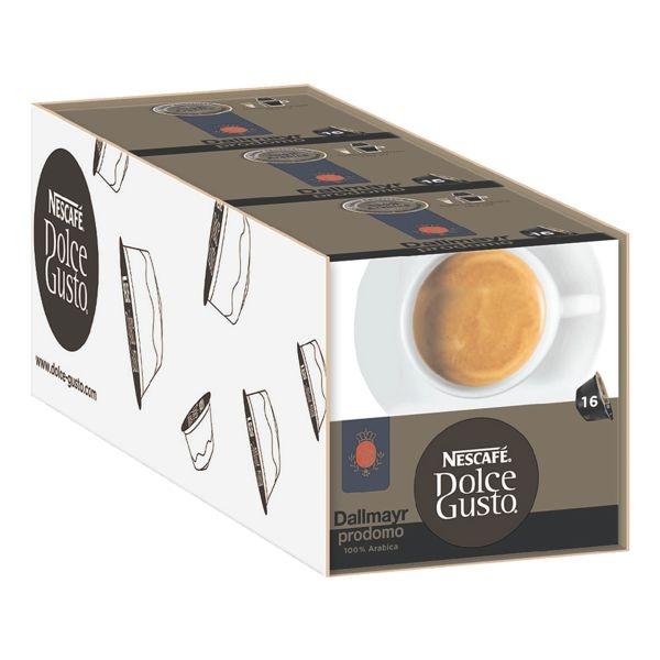 Nescafe 3 Packungen Kaffeekapseln »Dolce Gusto® Dallmayr Prodomo«