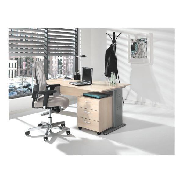 wellem bel m bel set adria 2 teilig schreibtisch mit c fu bei otto office g nstig kaufen. Black Bedroom Furniture Sets. Home Design Ideas