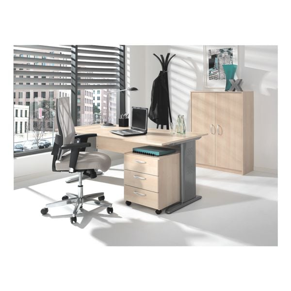 wellem bel m bel set adria 3 teilig schreibtisch mit c fu bei otto office g nstig kaufen. Black Bedroom Furniture Sets. Home Design Ideas