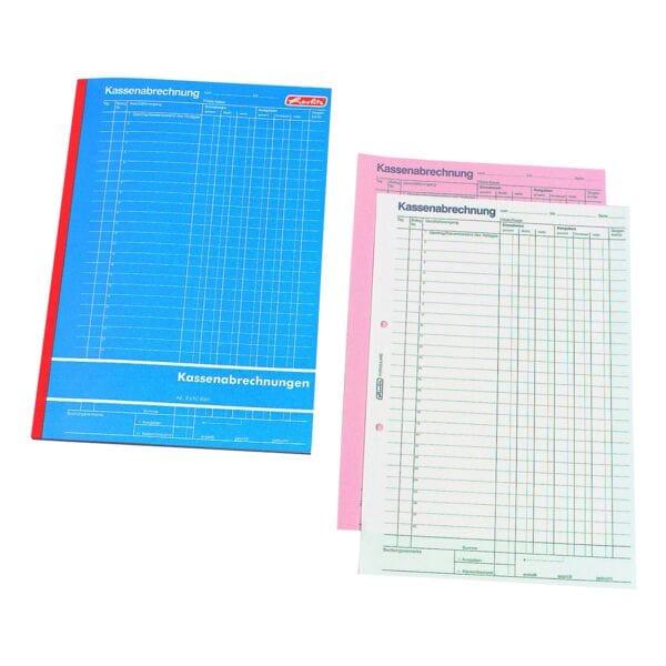 Herlitz Formularbuch »Kassenabrechnung«