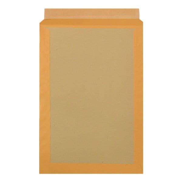 BONG 100 Versandtaschen mit Papprückwand, C4 120 g/m² ohne Fenster