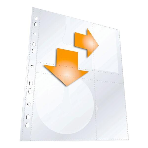 Durable CD/DVD/Blu-ray-Schutzhüllen