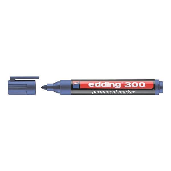 edding permanent marker 300 rundspitze strichst rke 1 5 3 0 mm xb bei otto office. Black Bedroom Furniture Sets. Home Design Ideas
