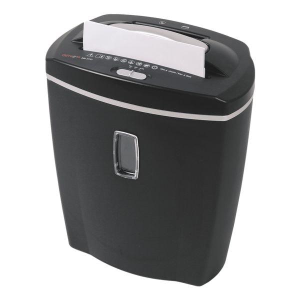 Aktenvernichter GENIE 580 XCD schwarz, Sicherheitsstufe 4, Partikelschnitt (4 x 18 mm) bis 8 Blatt