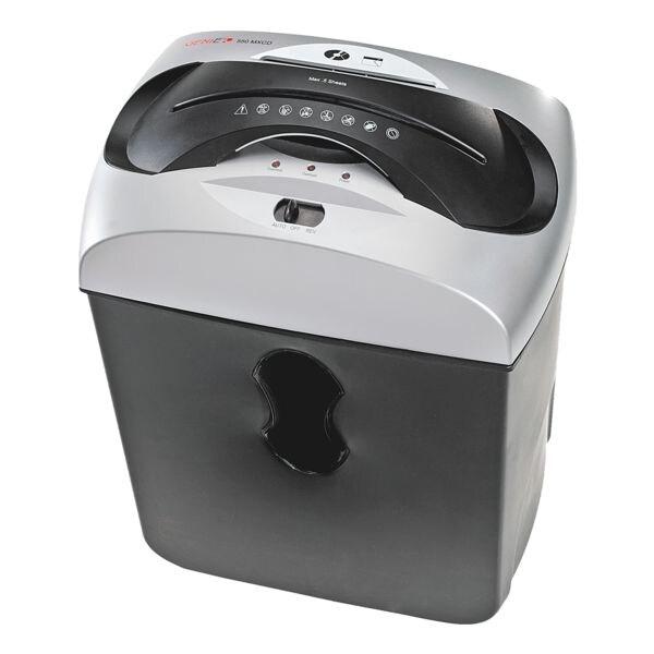 Aktenvernichter GENIE 550 MXCD, Sicherheitsstufe 5, Mikroschnitt (2 x 15 mm) bis 5 Blatt