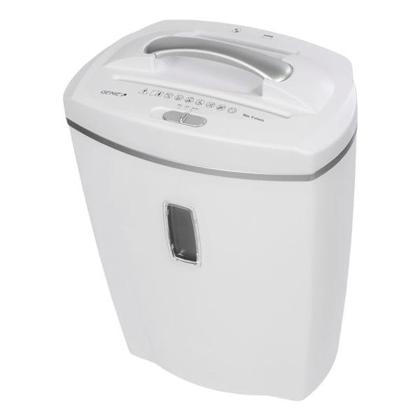 Aktenvernichter GENIE 580 XCD weiß, Sicherheitsstufe 4, Partikelschnitt (4 x 18 mm) bis 8 Blatt