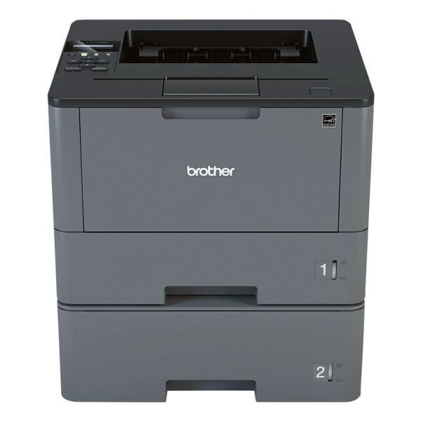 Brother HL-L5100DNT Laserdrucker, A4 schwarz weiß Laserdrucker, 1200 x 1200 dpi, mit LAN