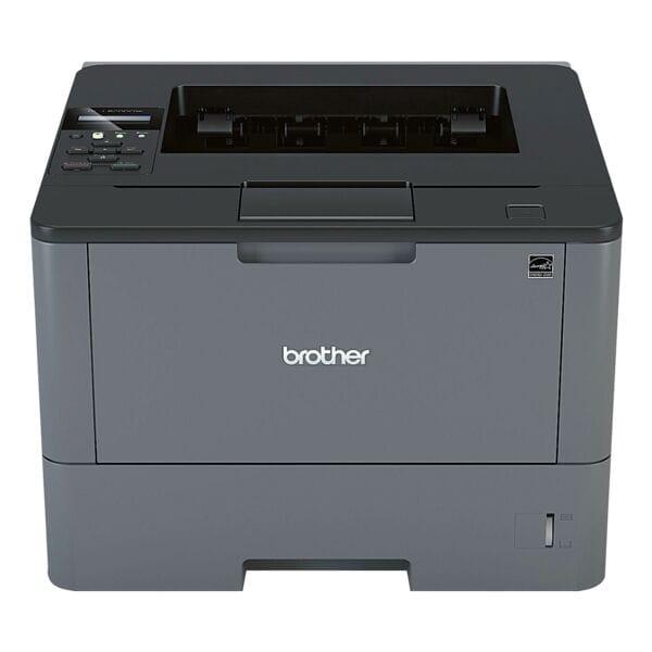 Brother HL-L5200DW Laserdrucker, A4 schwarz weiß Laserdrucker, 1200 x 1200 dpi, mit WLAN und LAN