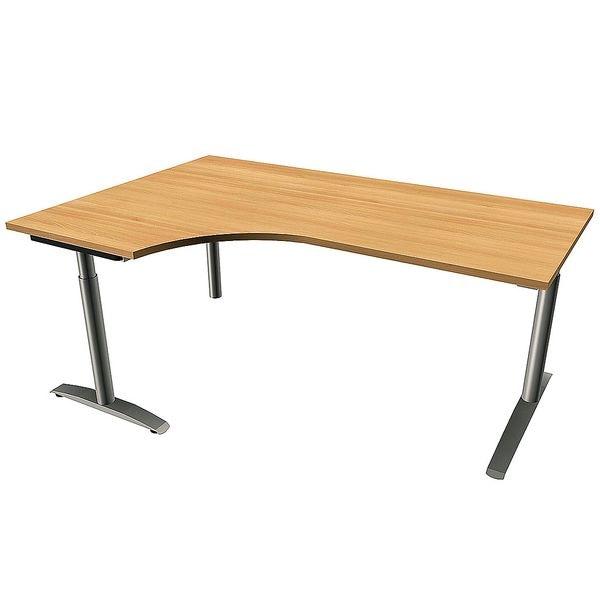 Fm b rom bel schreibtisch oldenburg 180 cm c fu for Schreibtisch 85 cm hoch