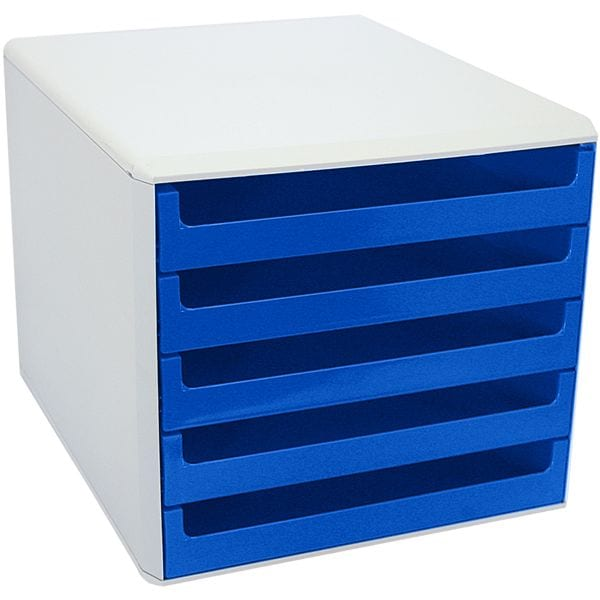 M und M Schubladenbox mit weißer Hülle