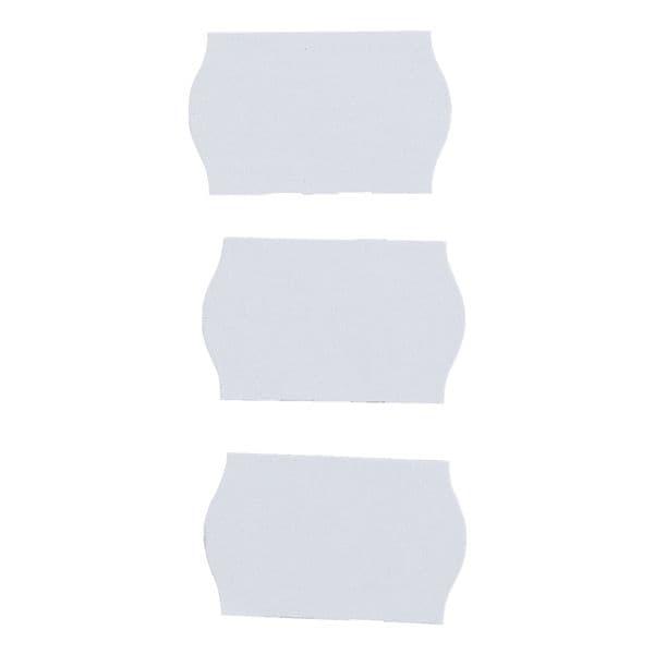 METO 6er-Pack Preisauszeichnungs-Etiketten »1200« weiß - ablösbar