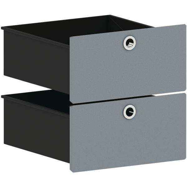 viasit schubkasten einsatz f r schmale regale system 4. Black Bedroom Furniture Sets. Home Design Ideas