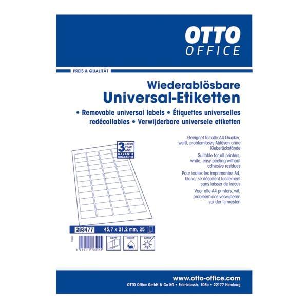 OTTO Office 1200er-Set Universal-Klebeetiketten
