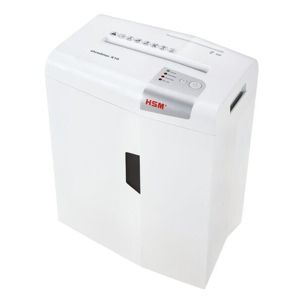 Aktenvernichter HSM shredstar X10, Sicherheitsstufe 4, Partikelschnitt (4,5 x 30 mm) bis 10 Blatt