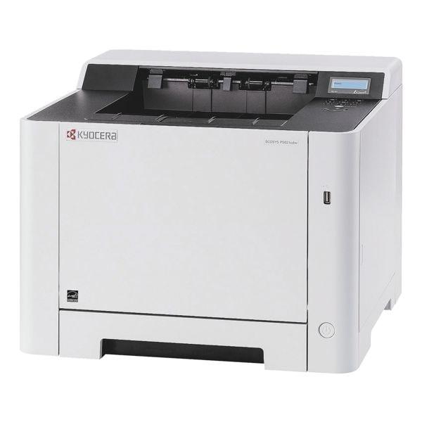 Kyocera ECOSYS P5021cdw Laserdrucker, A4 Farb-Laserdrucker, 1200 x 1200 dpi, mit LAN und WLAN - 3 Jahre KYOlife Herstellergarantie