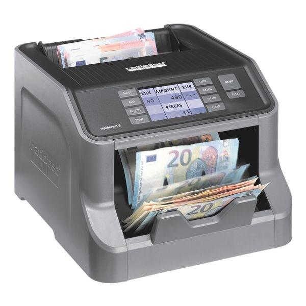 ratiotec Banknotenzählmaschine »rapidcount S 225«