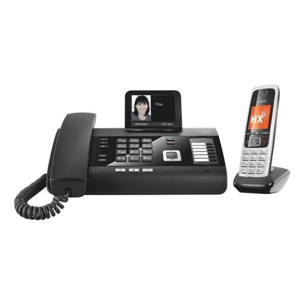 gigaset schnurgebundenes telefon dl500a mit mobilteil. Black Bedroom Furniture Sets. Home Design Ideas