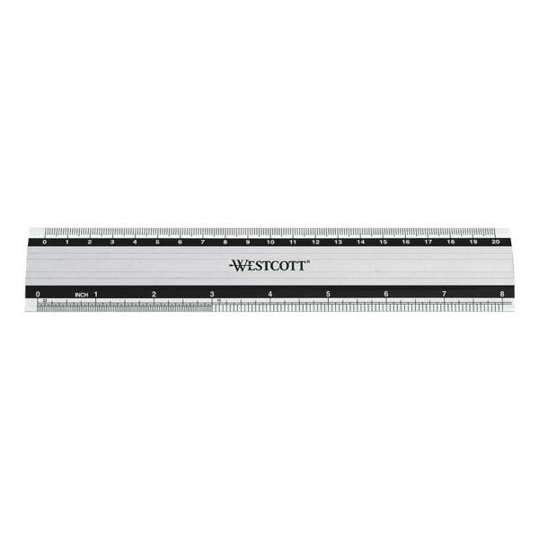 Westcott Aluminium-Lineal 20 cm