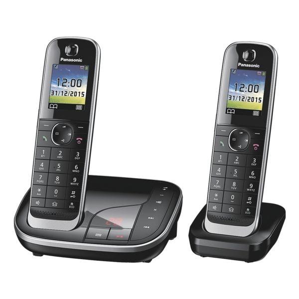 Panasonic Twin-Set Schnurloses Telefon »KX-TGJ322GB«