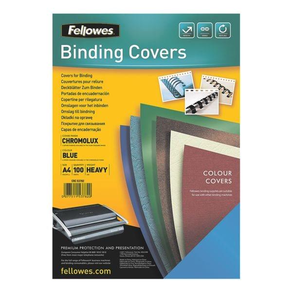 Fellowes Deckblätter zum Binden - 100 Stück