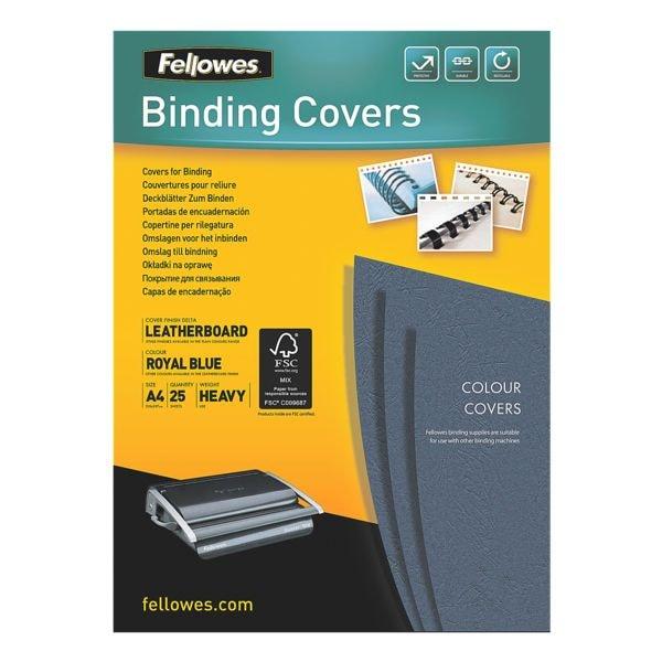 Fellowes Deckblätter zum Binden - 25 Stück