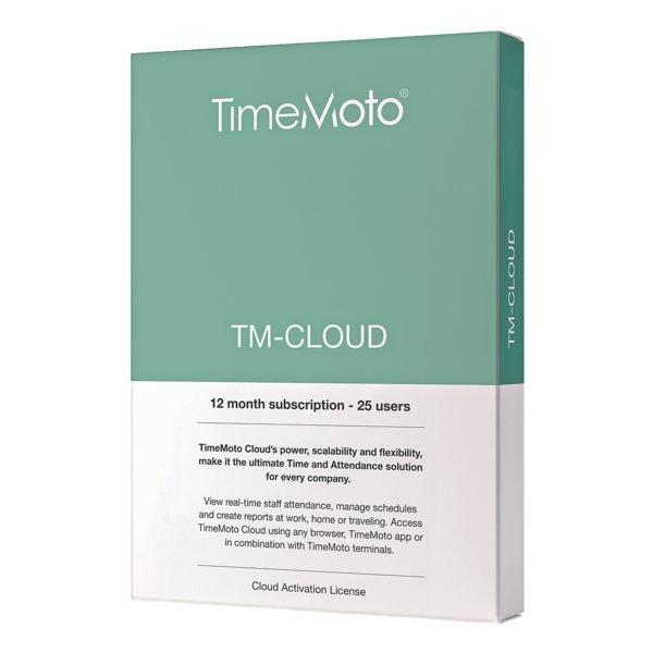 TimeMoto Zeiterfassungssoftware »TM-Cloud«