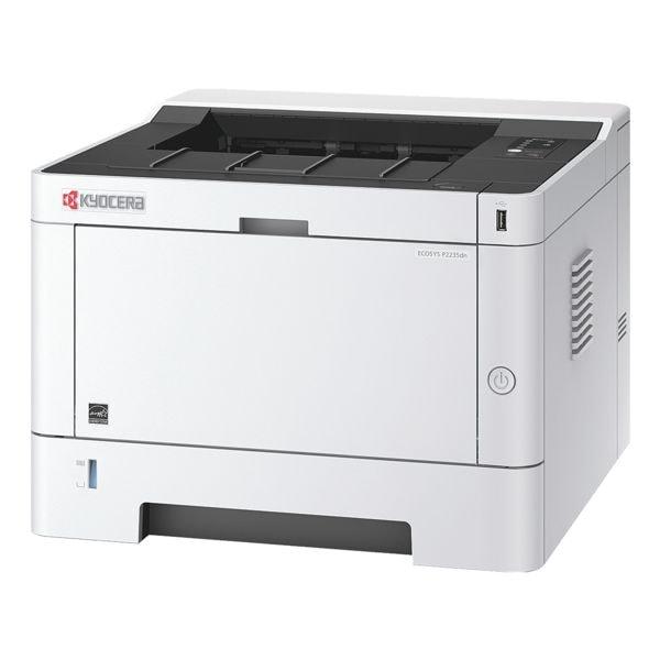 Kyocera ECOSYS P2235DN Laserdrucker, A4 schwarz weiß Laserdrucker, 1200 x 1200 dpi, mit LAN