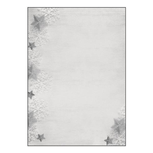 Sigel Weihnachts-Motivpapier »Frozen Stars«