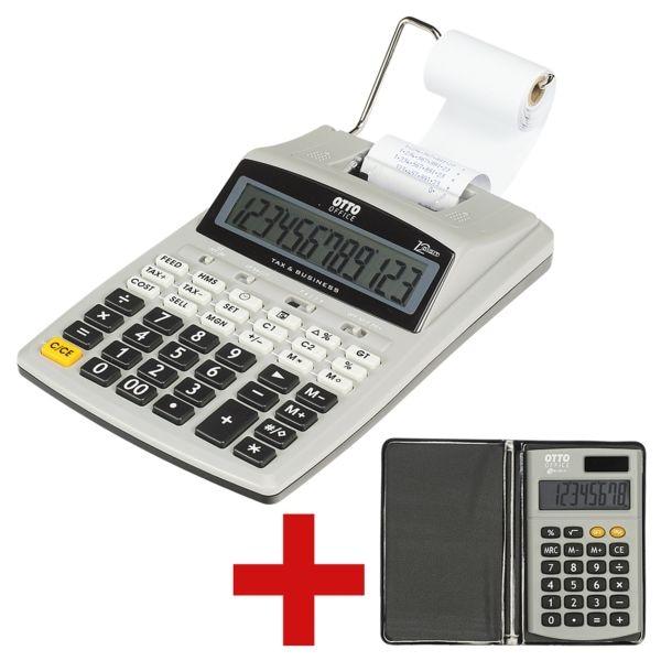 OTTO Office Druckender Tischrecher »OC-DR17« inkl. Taschenrechner »OC-P17«