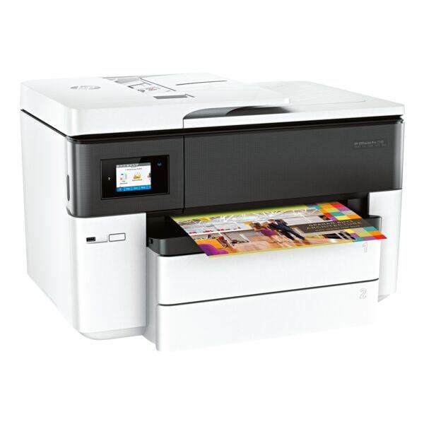HP A3 Farb-Multifunktionsdrucker »OfficeJet Pro 7740 Wide«