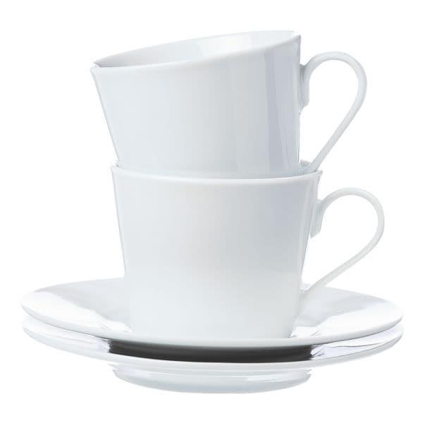 Ritzenhoff & Breker 4-teiliges Kaffeetassen-Set »Bianco«