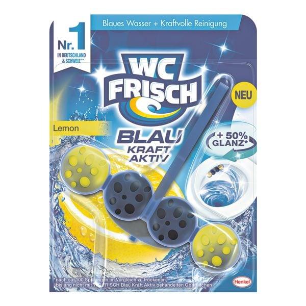 WC FRISCH WC-Reiniger »WC-Frisch Blau Kraft-Aktiv Lemon«