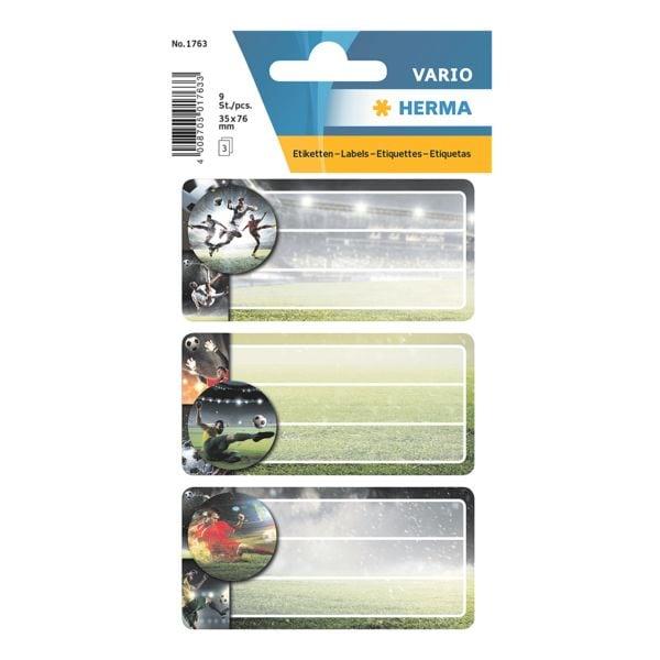 Herma Buchettiketten »Fußball«